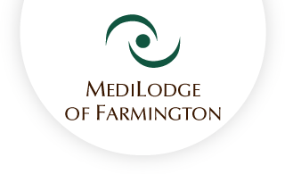 Medilodge of farmington web logo